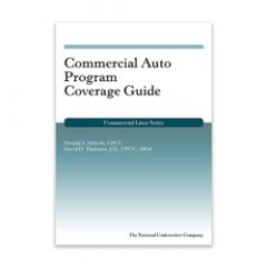 Commercial Auto Program Coverage Guide