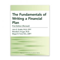 The Fundamentals of Writing a Financial Plan, First Edition (Revised)
