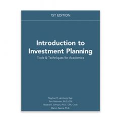Introduction to Investment Planning: Tools & Techniques for Academics