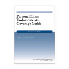 Personal Lines Endorsements Coverage Guide