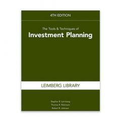 The Tools & Techniques of Investment Planning, 4th Edition