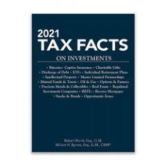 2021 Tax Facts on Investments
