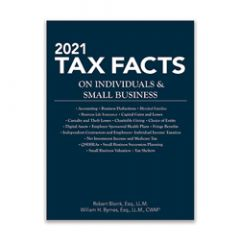 2021 Tax Facts Individuals & Small Business