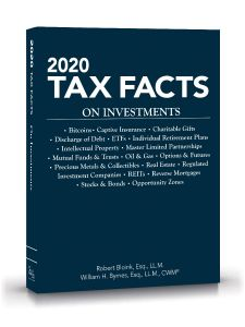 2020 Tax Facts on Investments